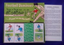 Vintage Collectible cards game Football dominoes by Bear